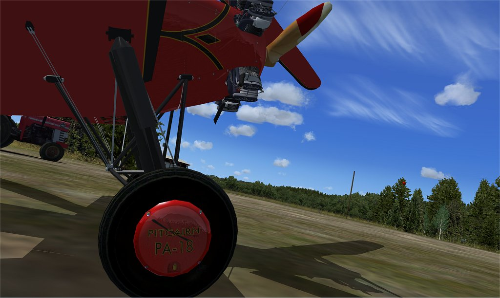 Pitcairn Autogiro Package for FSX