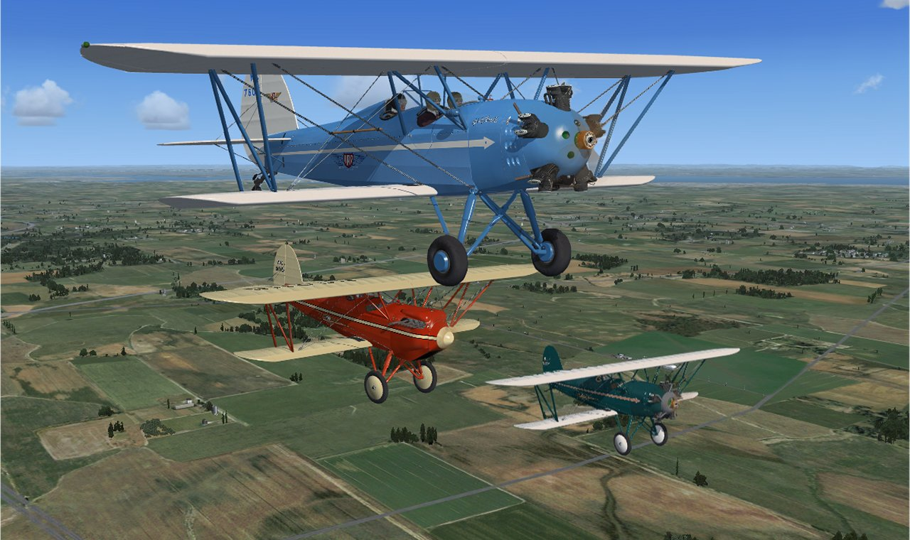 Brunner Winkle Bird Package for FSX, FSX SE, P3D