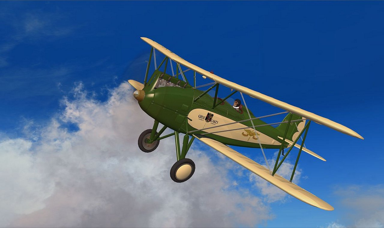 Great Lakes Sport Biplanes for FSX/P3D