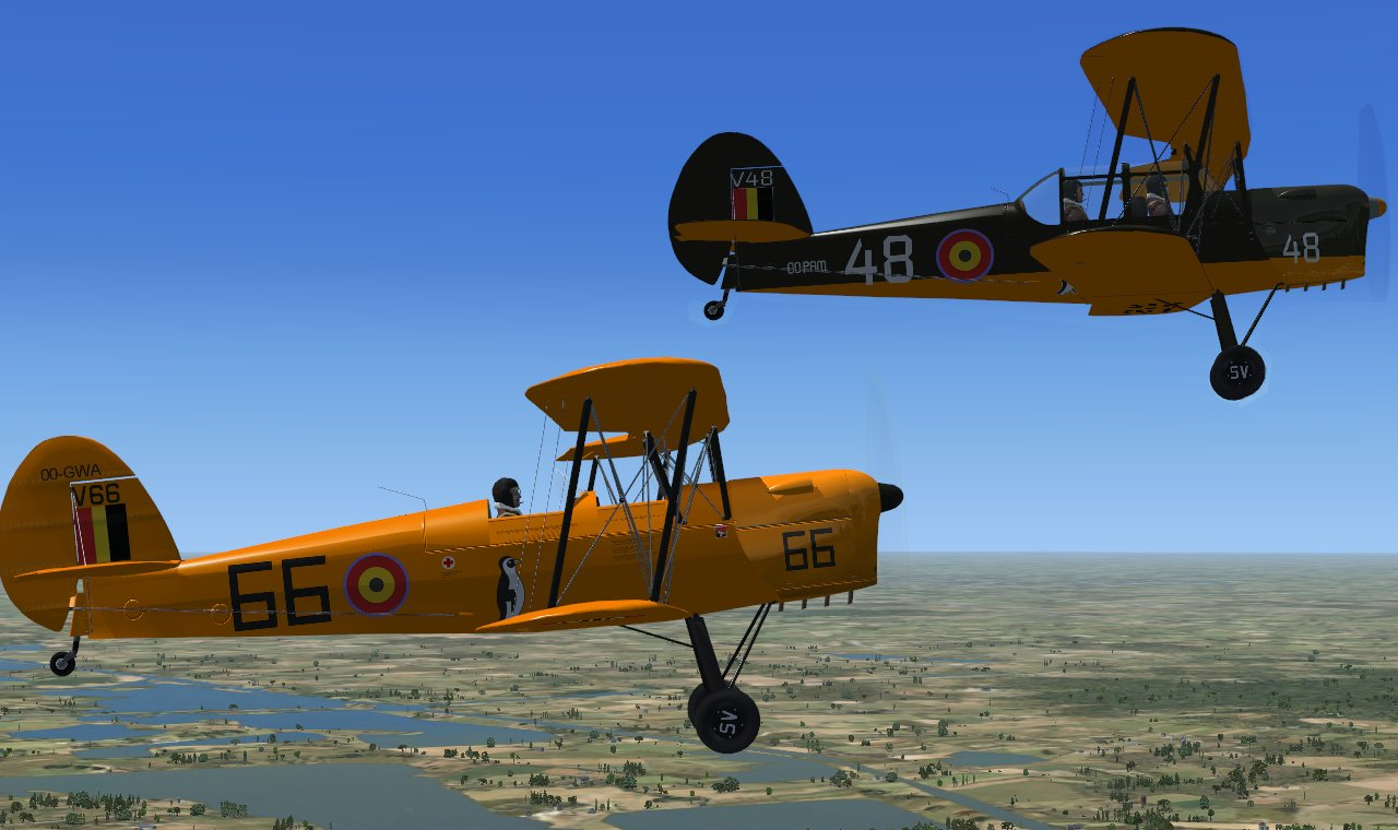 Stampe SV-4B for FSX, FSX SE, and Lockheed Martin P3D